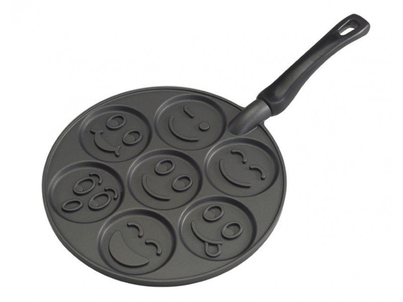 Patelnia do placków SMILEY FACE / Nordic Ware