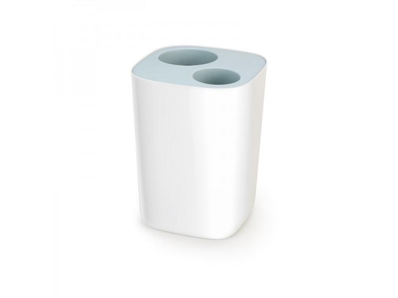 Praktyczny kosz do segregacji odpadów w łazience Split Bathroom o pojemności 8 litrów