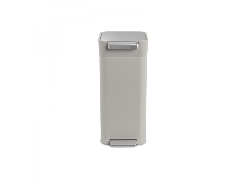Higieniczny kosz na śmieci TITAN Intelligent Waste z filtrem węglowym i systemem zgniatania śmieci, 20 l