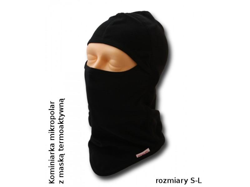 Kominiarka polarowa Woosh Coolmax z maską termoaktywną