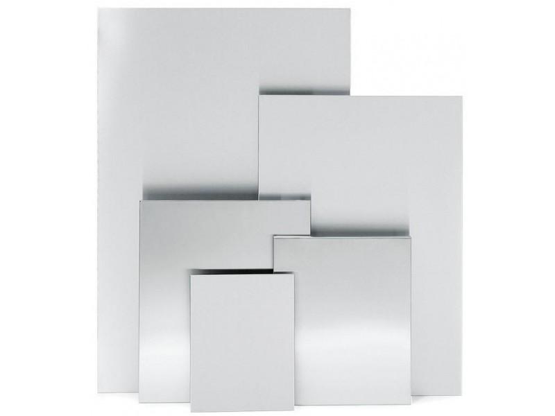 Tablica magnetyczna, matowa stal nierdzewna malowana proszkowo, 60 x 90 cm
