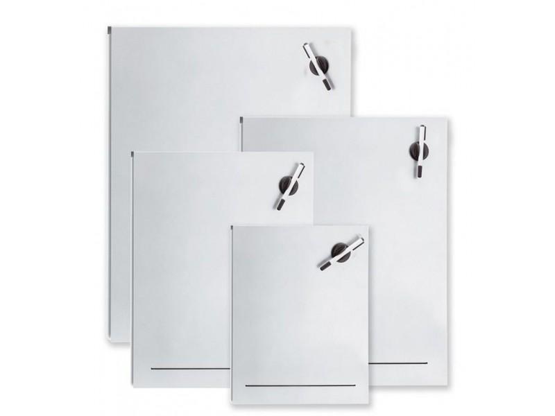 Matowa tablica magnetyczna Blomus Muro, stal nierdzewna proszkowa, 40 x 50 cm