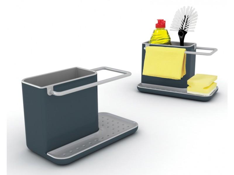JOSEPH JOSEPH Pojemnik na akcesoria do zmywania CADDY Ciemno szary