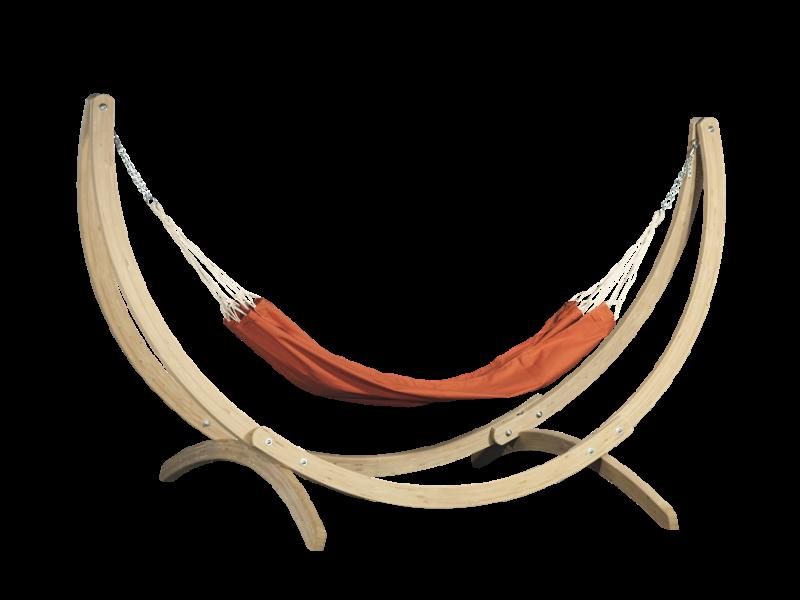 Wygodny i wytrzymały hamak ogrodowy Doub znanej marki Timberplus