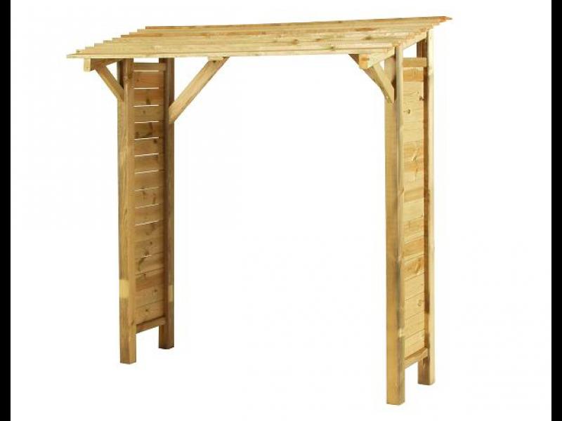 Drewutnia, wiata na drewno