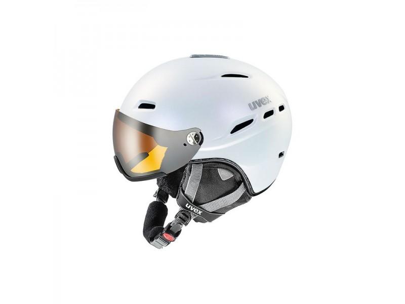 Funkcjonalny kask narciarski Uvex Hlmt 200 z wizjerem
