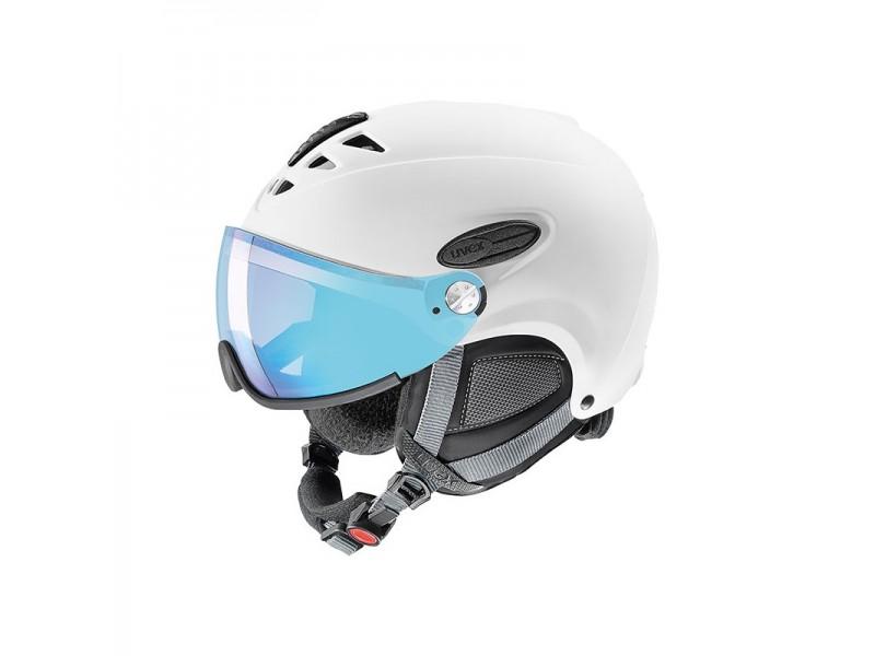 Kask narciarski Uvex Hlmt 300 Vario z wizjerem z szybą variomatic
