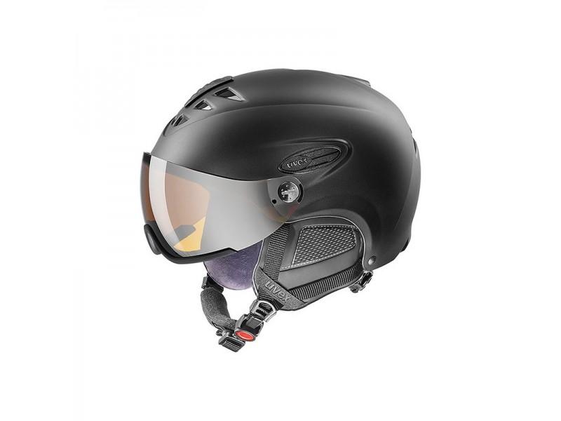 Nowoczesny kask narciarski Uvex Hlmt 300 Visor z szybą