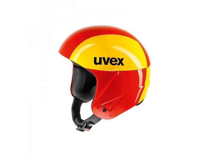 Profesjonalny kask narciarski Uvex Race 2 gfk dla zawodowców