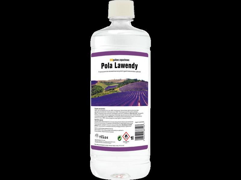 Aromatyzowane biopaliwo 1l Pola Lawendy