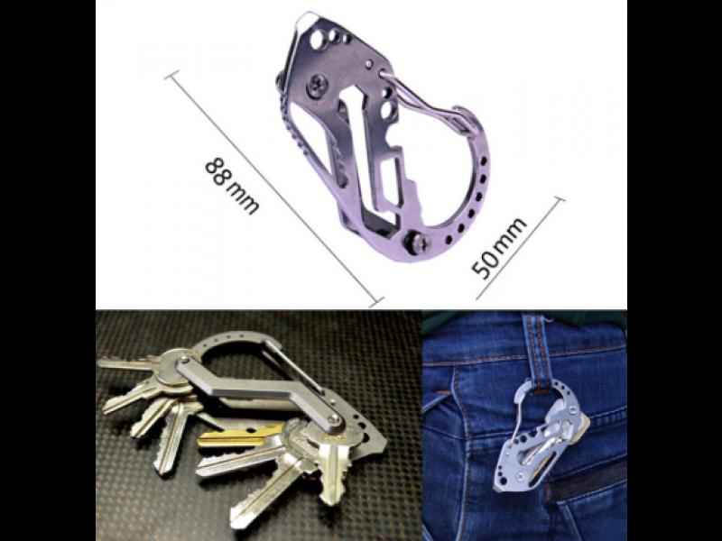 Wielofunkcyjny, solidny i praktyczny karabinek na klucze
