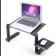 Rozkładane biurko na komputer/laptop, regulowana wysokość
