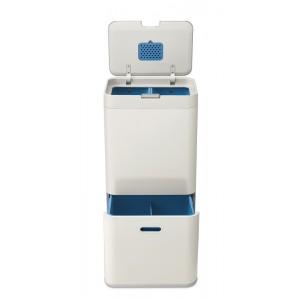 Ekologiczny kosz z filtrem węglowym TOTEM 58 l z kolekcji Intelligent Waste, do segregacji śmieci