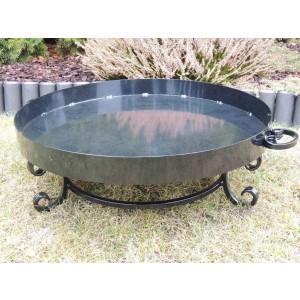 Praktyczne palenisko ogrodowe pod grill, ognisko - 60 cm lub 80 cm