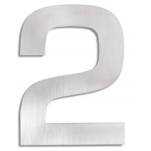 "Czytelna cyfra na dom lub mieszkanie - ""2"""