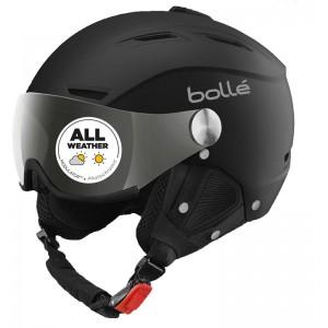 Kask narciarski czarny Bolle