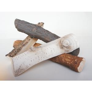 Dekoracyjne polana ceramiczne do biokominka