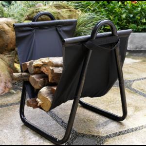 Przenośny stojak na drewno kominkowe/opałowe BUK-1