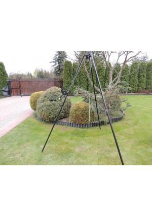 Masywny, solidny trójnóg 210 cm z kołowrotkiem, łańcuchem i linką