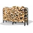 stojak z drewnem kominkowym