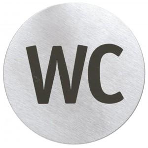 Piktogram na drzwi - WC