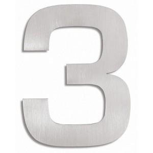 """Widoczna cyfra na dom lub ogrodzenie - """"3"""""""