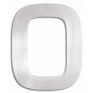 """Stalowa cyfra na dom - """"0"""""""