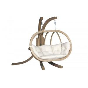 Stylowy, dwuosobowy fotel wiszący Kacper