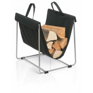 Stojak z nosidłem na drewno