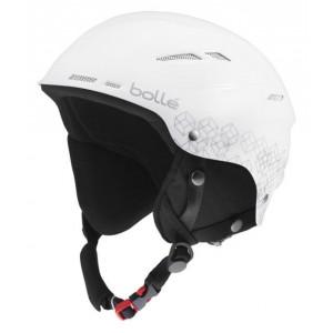 Kask narciarski Bolle B-Rent Shiny White&Silver