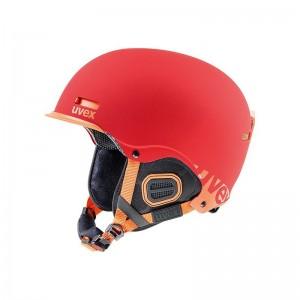 Nowoczesny kask narciarski Uvex Hlmt 5 core z praktycznym daszkiem