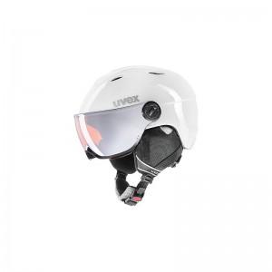 Kask narciarski dla dzieci Uvex Junior Visor Pro z wizjerem