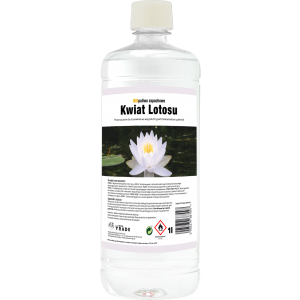 Biopaliwo zapachowe do kominka 1l Kwiat Lotosu