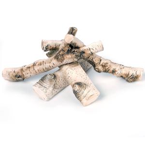 Polana ceramiczne imitujące drewno brzozowe