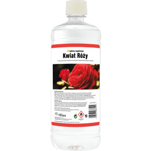 Biopaliwo aromatyzowane 1l Kwiat Róży