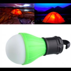 Lampka turystyczno-budowlano-imprezowa, żarówka na baterie