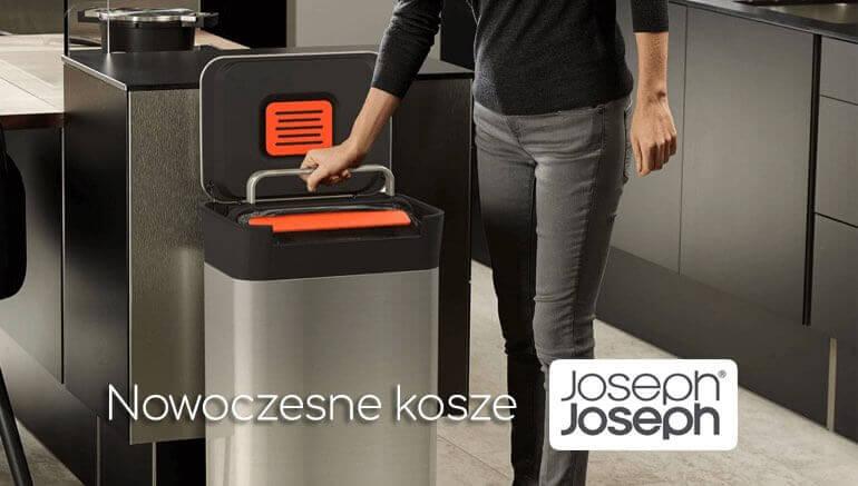 Nowoczesne kosze Joseph Joseph