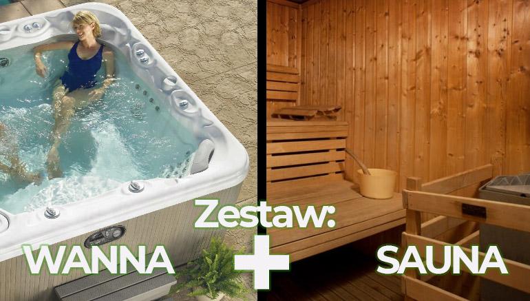 Sauna+Jacuzzi