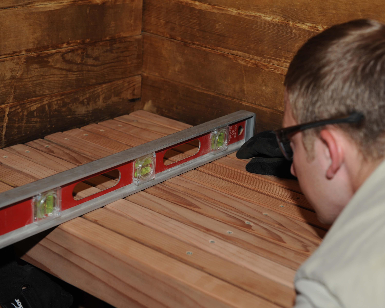 etapy budowy sauny wewnętrznej