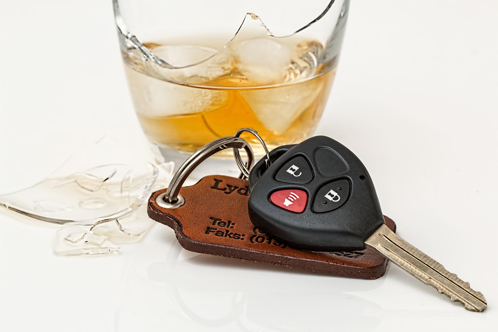 Alkohol a wypadki na drodze