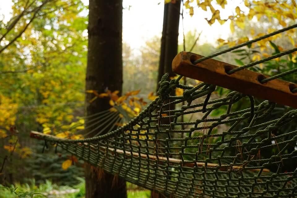Stelaż na hamak ogrodowy
