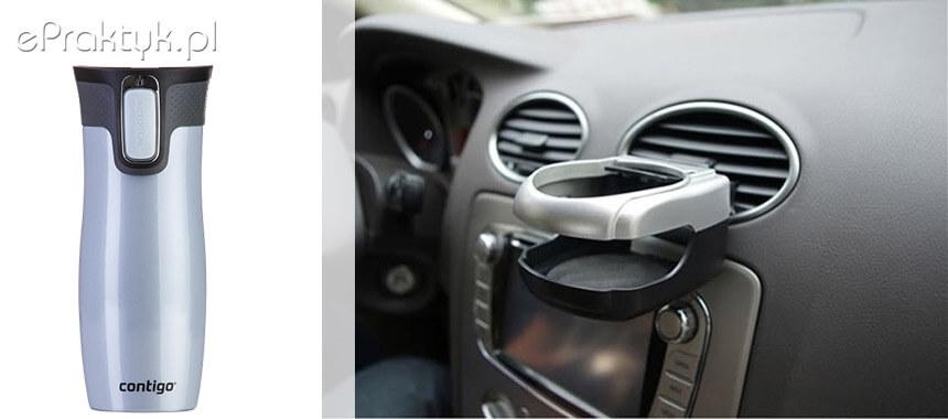 Kubki termiczne Contigo uchwyt do samochodu
