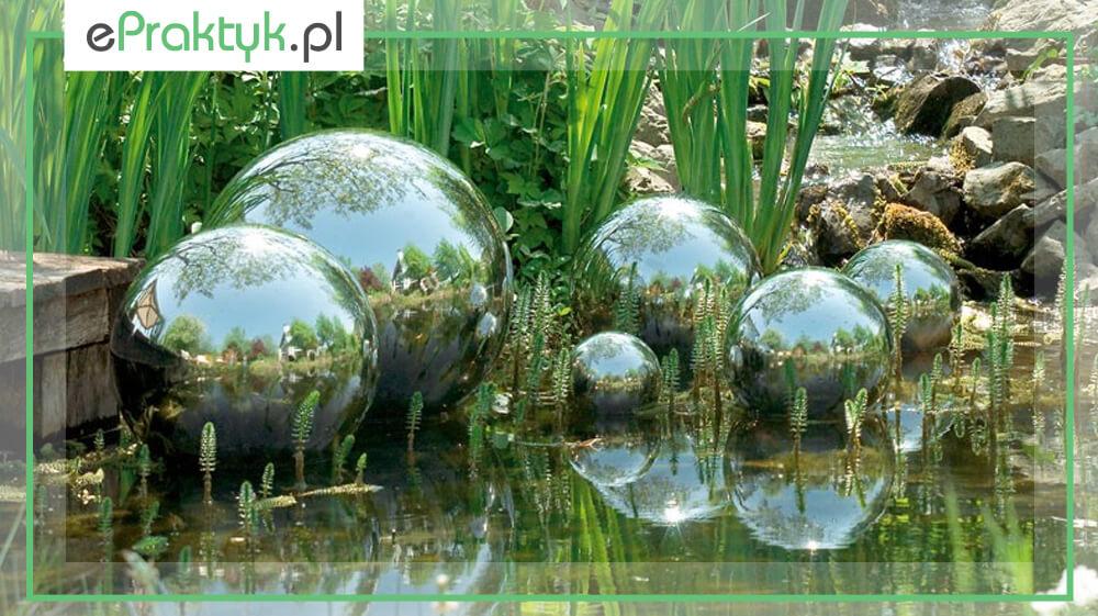Kule ogrodowe ze stali nierdzewnej