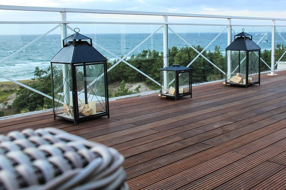 Deski tarasowe na balkon lub taras