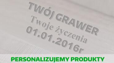 Grawer lub nadruk na produkt