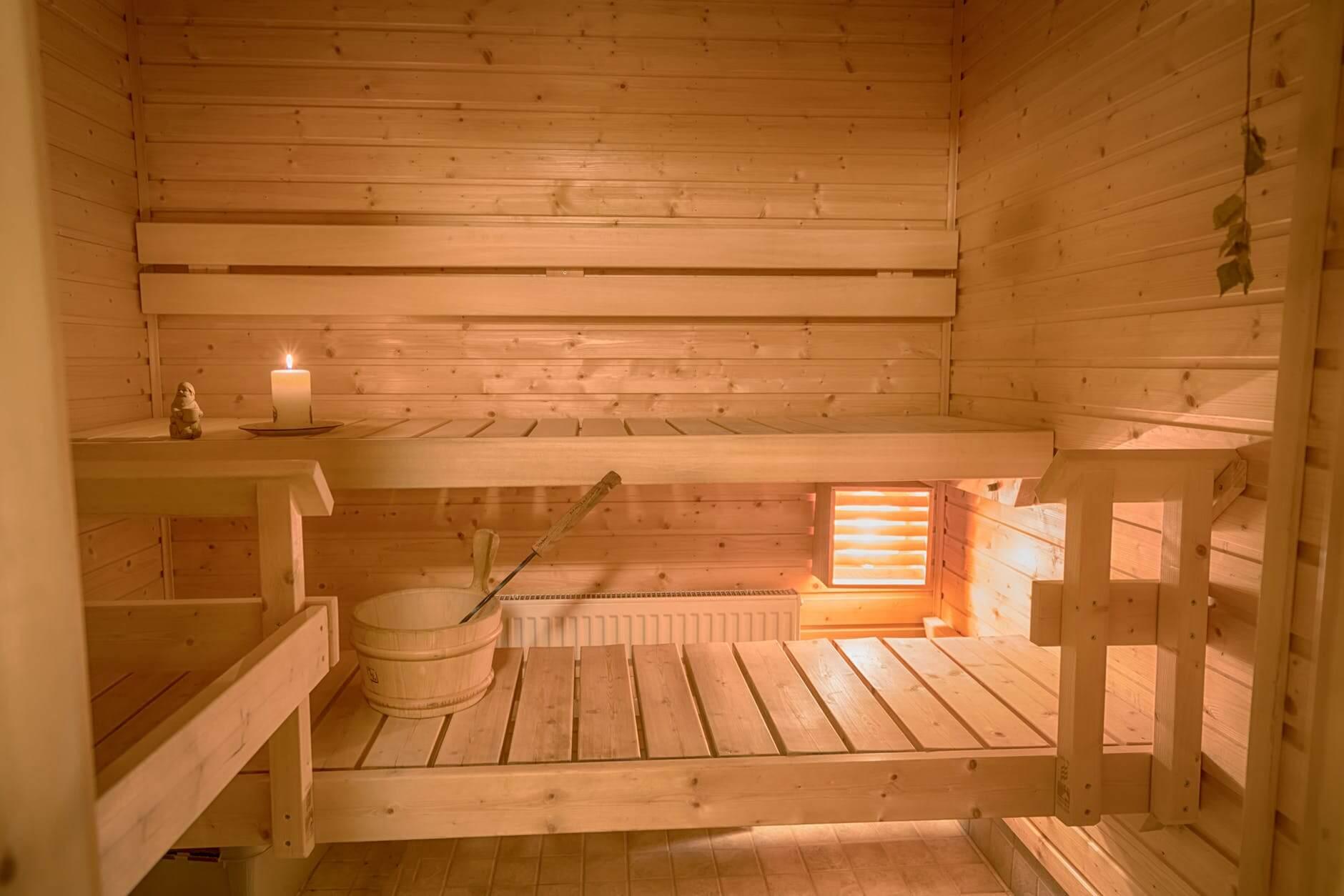 sauna wewnętrzna KLARA