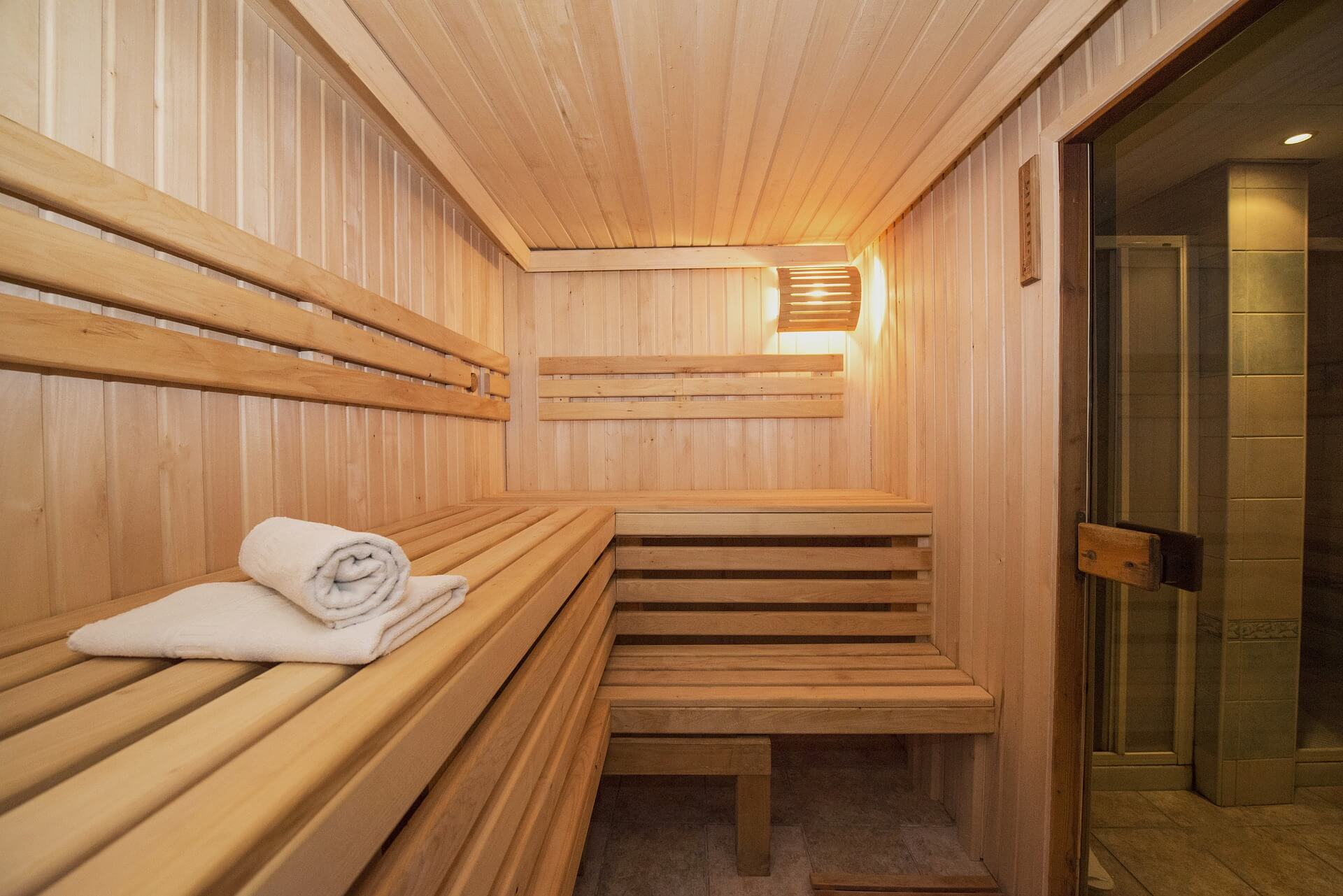 Sauna wewnętrzna - relaks i odpoczynek